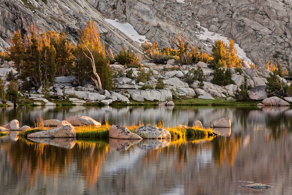 Last Light, Upper Young Lake